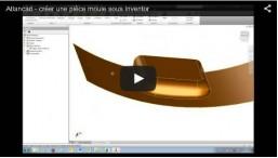 comment créer un moule avec Inventor