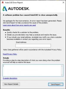 Blocage Autodesk